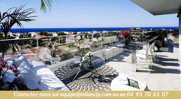 Programme neuf Antibes proche Fontonne