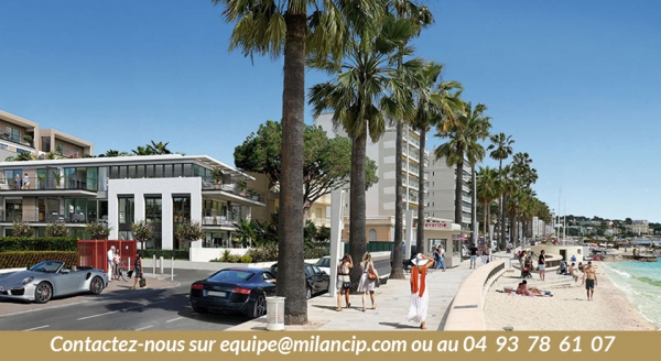 Immobilier neuf Antibes Jua les Pins proche plage