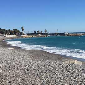 vue plage saint laurent