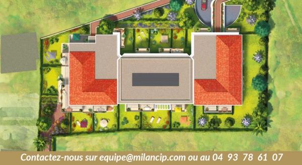 plan de masse résidence