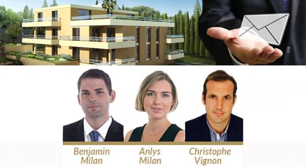 L'equipe MIAN CIP - Spécialiste des programmes neufs de la Côte d'Azur